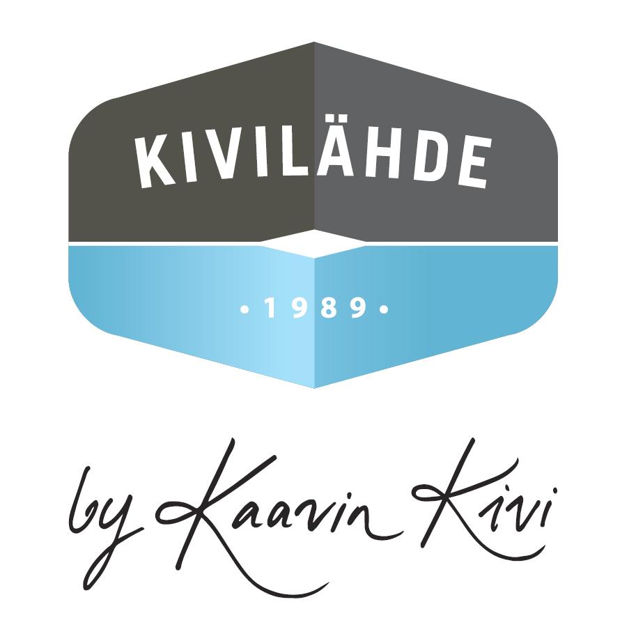 Kivilahde by Kaavin Kivi Oy logo / Hautaustoimisto Ungern